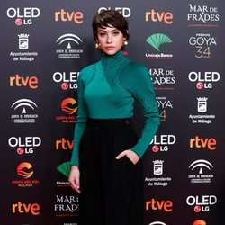 Greta Fernández en la fiesta de los nominados a los Premios Goya 2020