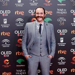 Luis Callejo en la fiesta de los nominados a los Premios Goya 2020