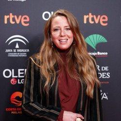 Ainhoa Santamaría en la fiesta de los nominados a los Premios Goya 2020