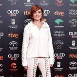 Nathalie Poza en la fiesta de los nominados a los Premios Goya 2020