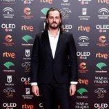Asier Etxeandía en la fiesta de los nominados a los Premios Goya 2020