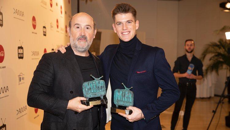 Javier Cámara y Miguel Bernardeau premiados en los MiM 2019