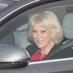 Camilla Parker en el almuerzo prenavideño 2019 en Buckingham Palace