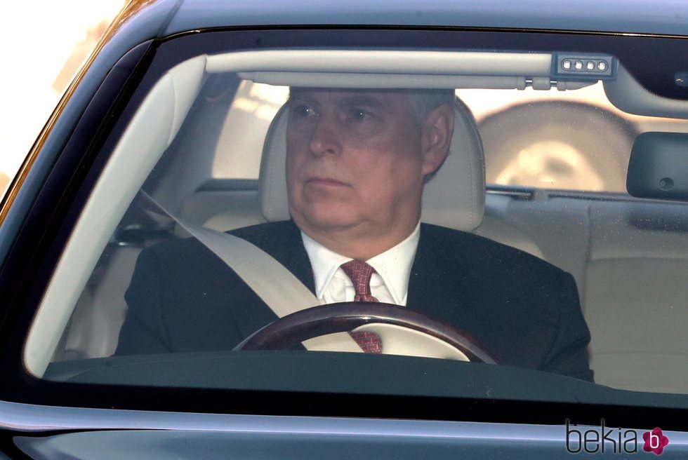 El Príncipe Andrés en el almuerzo prenavideño 2019 en Buckingham Palace