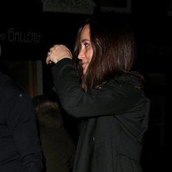 Pippa Middleton acudiendo a la fiesta de compromiso de la Princesa Beatriz de York y Edoardo Mapelli