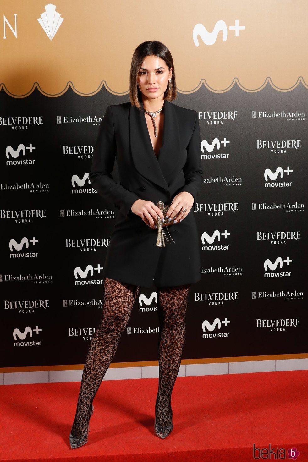 Michelle Calvó en la fiesta del final de 'Velvet Colección'