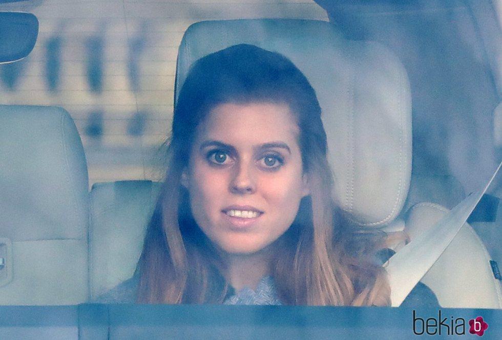 La Princesa Beatriz de York en el almuerzo prenavideño 2019 en Buckingham Palace