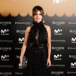Mónica Cruz en la fiesta del final de 'Velvet Colección'