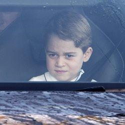 El Príncipe Jorge en el almuerzo prenavideño 2019 en Buckingham Palace