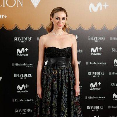 Marta Hazas en la fiesta del final de 'Velvet Colección'