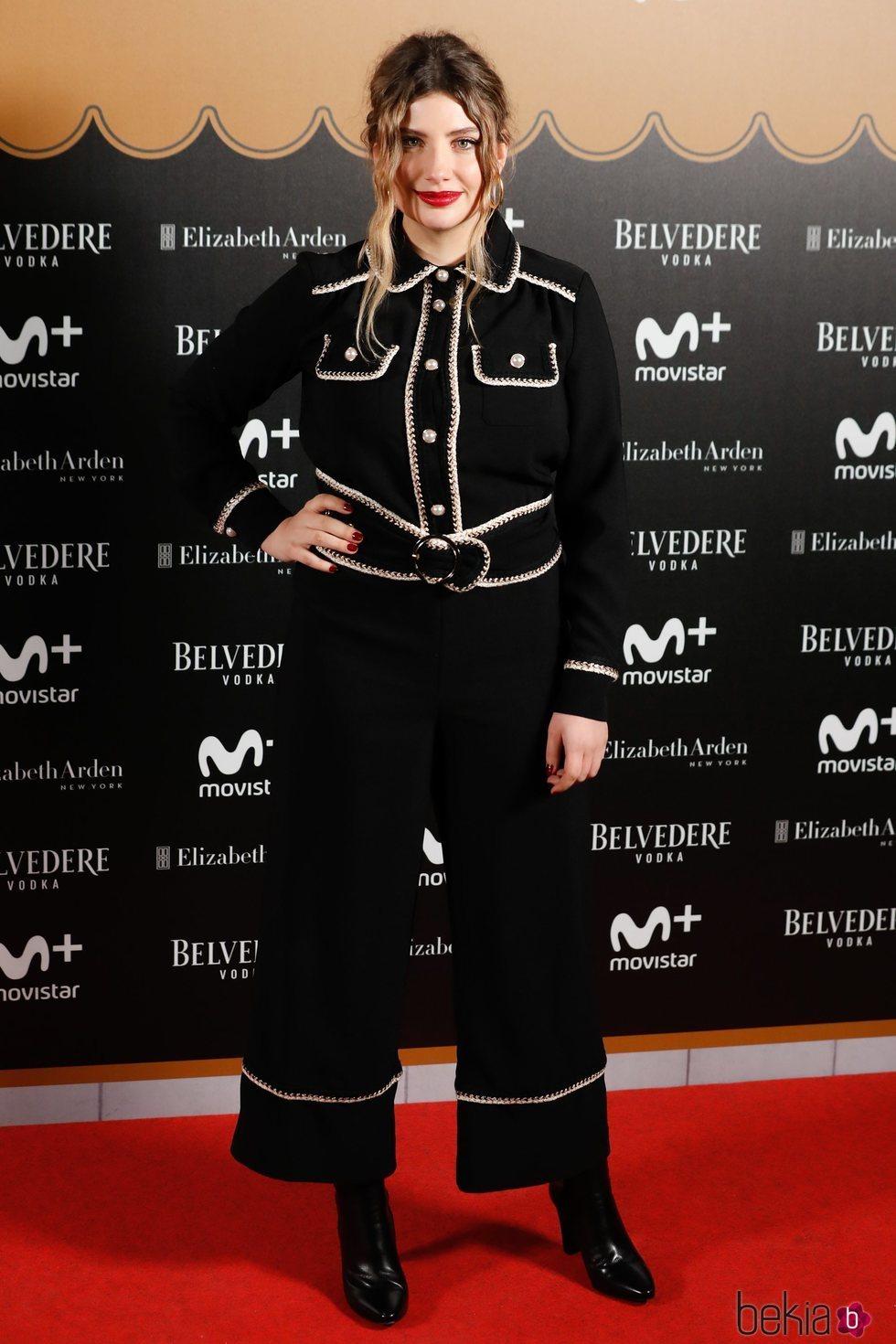 Miriam Giovanelli en la fiesta del final de 'Velvet Colección'