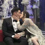 Adara y Gianmarco besándose en la gala final de 'GH VIP 7'