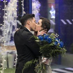 Adara besando a Gianmarco en la final de 'GH VIP 7'