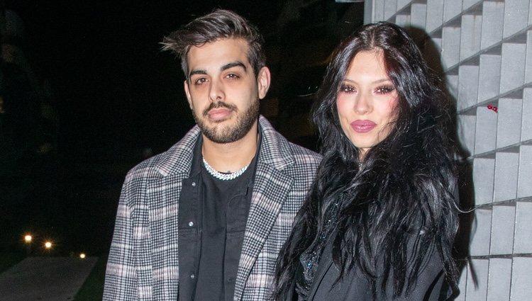 Alejandra Rubio y su novio Lobo en la cena de Nochebuena de su madre Terelu