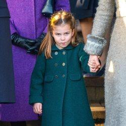 La Princesa Carlota en la Misa de Navidad 2019