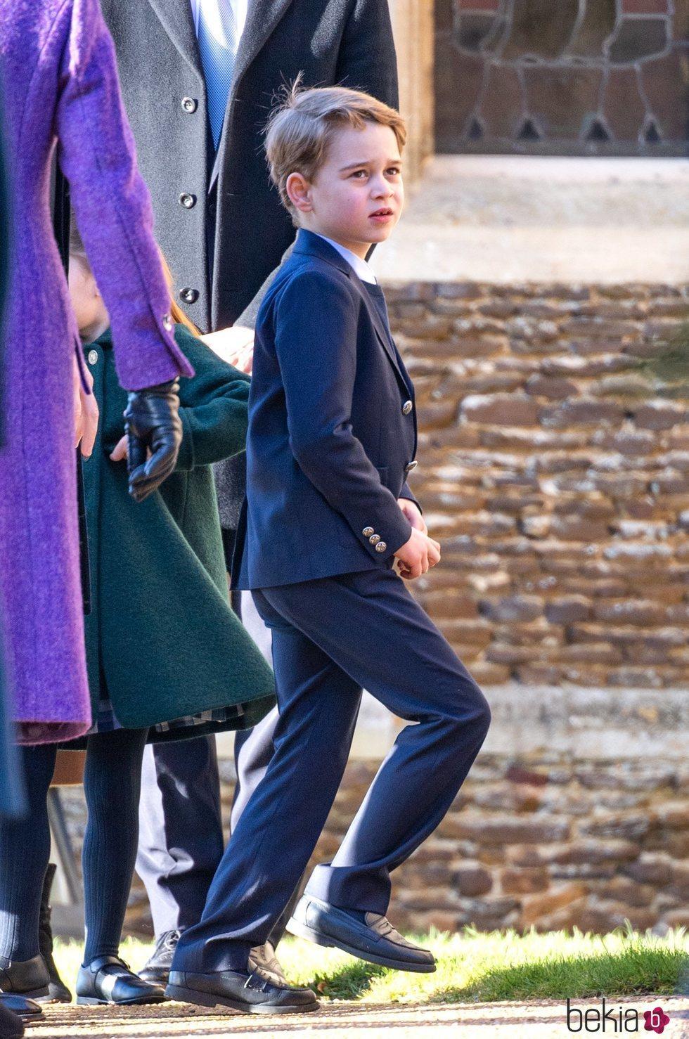 El Príncipe Jorge en la Misa de Navidad 2019