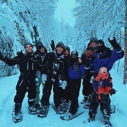 Los hermanos Casas en Laponia