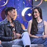 Adara y Gianmarco se miran cómplices en el debate final de 'GH VIP 7'