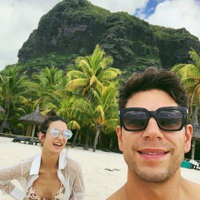 Diego Matamoros y Estela Grande en las Islas Mauricio