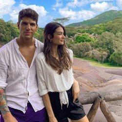 Diego Matamoros y Estela Grande, de vacaciones en las Islas Mauricio