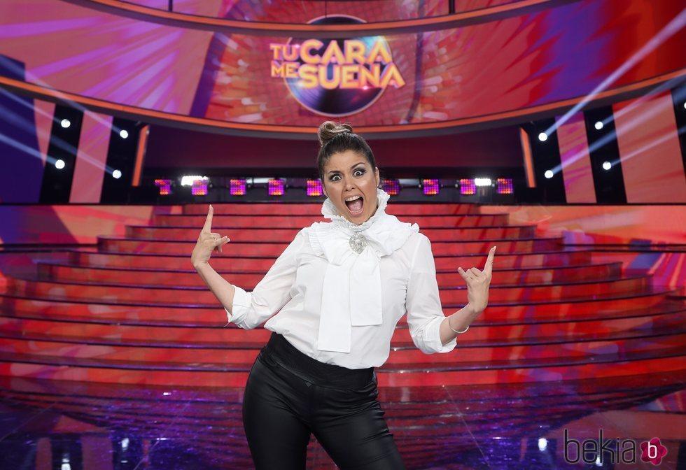 Cristina Ramos en el posado oficial de 'TCMS 8'