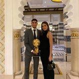 Hiba Abouk, orgullosa de Achraf Hakimi tras ser galardonado