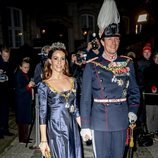 Los Príncipes Joaquín y Marie de Dinamarca en la recepción de Año Nuevo 2020