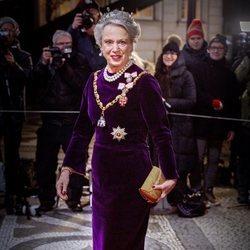 La Princesa Benedicta de Dinamarca en la recepción de Año Nuevo 2020