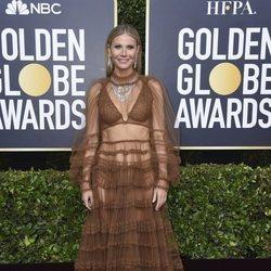 Gwyneth Paltrow en la alfombra roja de los Globos de Oro 2020