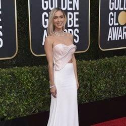 Kristin Cavallari en la alfombra roja de los Globos de Oro 2020