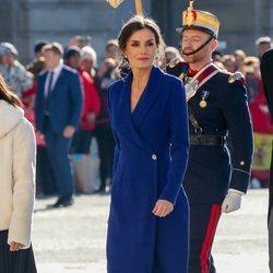 La Reina Letizia en la Pascua Militar 2020