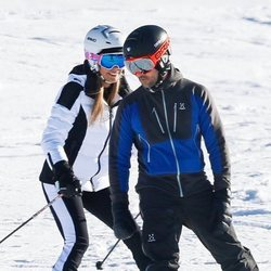 David Bisbal y Rosanna Zanetti disfrutando de la nieve en Baqueira
