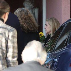 La Infanta Cristina en el funeral de la Infanta Pilar