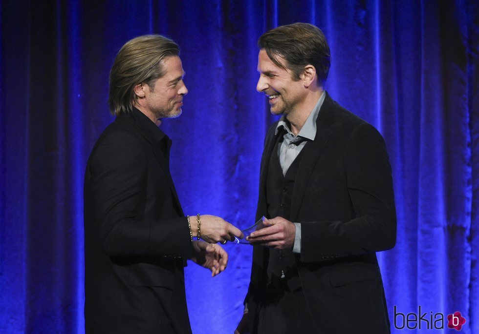 Brad Pitt con Bradley Cooper en los Premios National Board of Review 2020