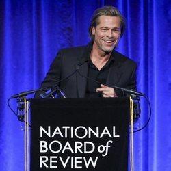 Brad Pitt en los Premios National Board of Review 2020