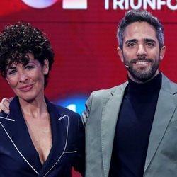 Nina y Roberto Leal en la presentación de 'OT 2020'