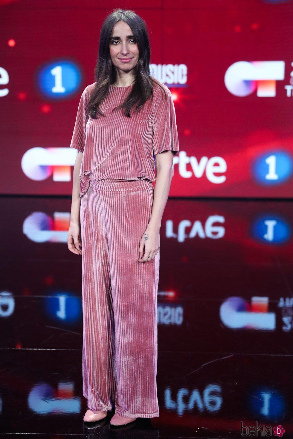 Zahara en la presentación de 'OT 2020'