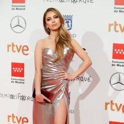 Ana Mena en la alfombra roja de los Premios Forqué 2020