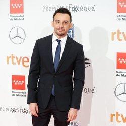 Alejandro Amenábar en la alfombra roja de los Premios Forqué 2020