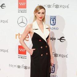 Marta Hazas en la alfombra roja de los Premios Forqué 2020