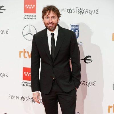 Daniel Sánchez Arévalo en la alfombra roja de los Premios Forqué 2020
