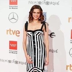 Macarena Gómez en la alfombra roja de los Premios Forqué 2020