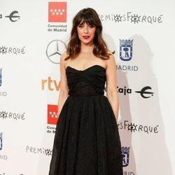 Belén Cuesta en la alfombra roja de los Premios Forqué 2020