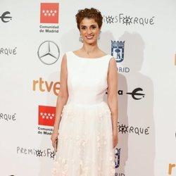 Ruth Gabriel en la alfombra roja de los Premios Forqué 2020
