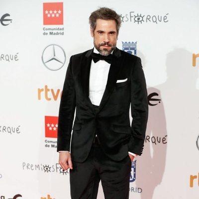 Unax Ugalde en la alfombra roja de los Premios Forqué 2020