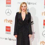 Pilar Castro en la alfombra roja de los Premios Forqué 2020