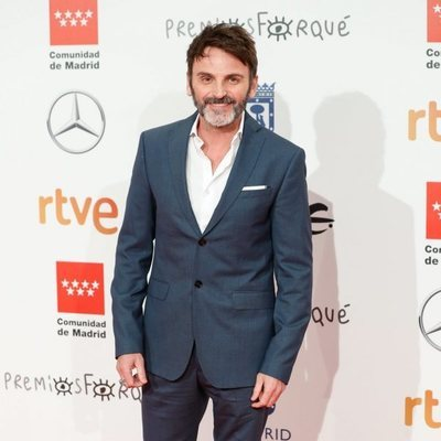 Fernando Tejero en la alfombra roja de los Premios Forqué 2020