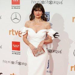 María Botto en la alfombra roja de los Premios Forqué 2020