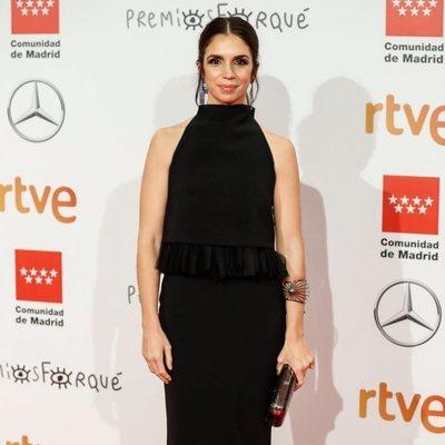 Elena Furiase en la alfombra roja de los Premios Forqué 2020