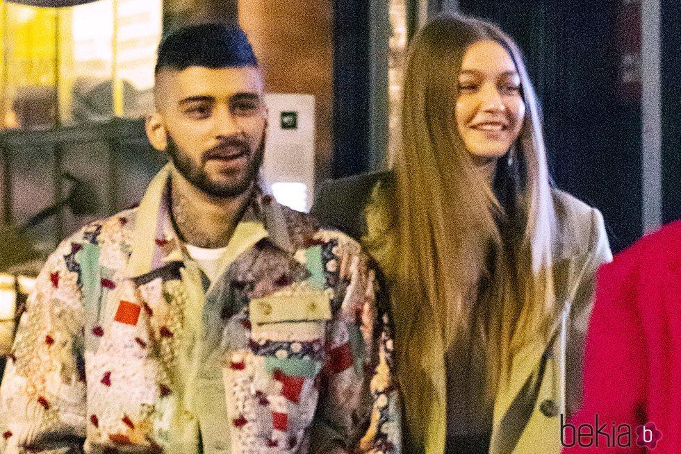 Zayn Malik y Gigi Hadid paseando su amor por las calles de Nueva York